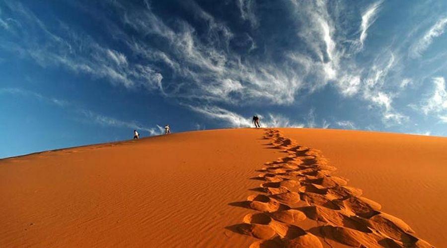 Dans le Desert Marocain