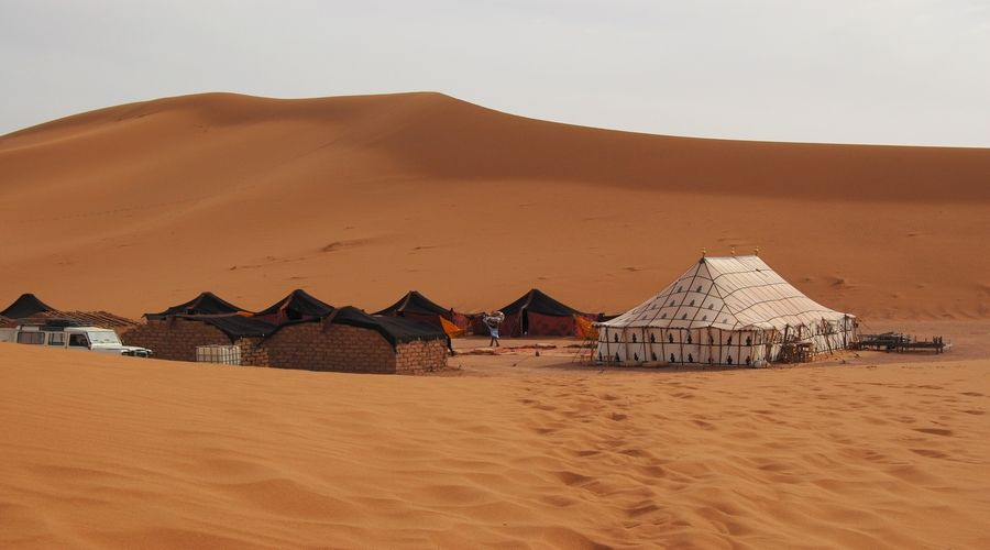 camp-desert-maroc