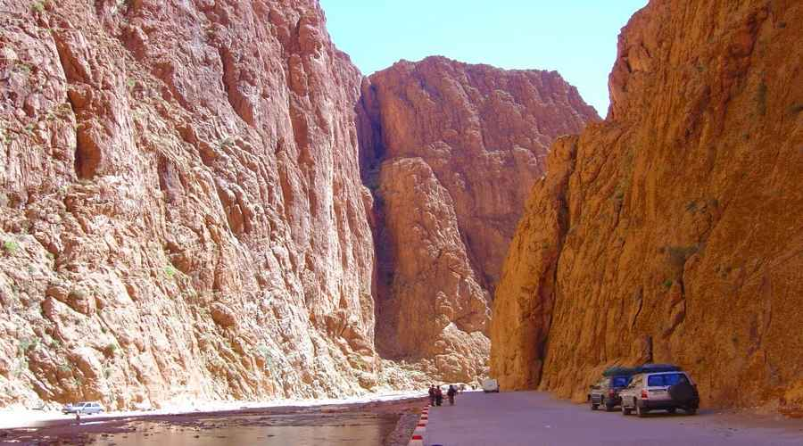 Gorges Todra maroc