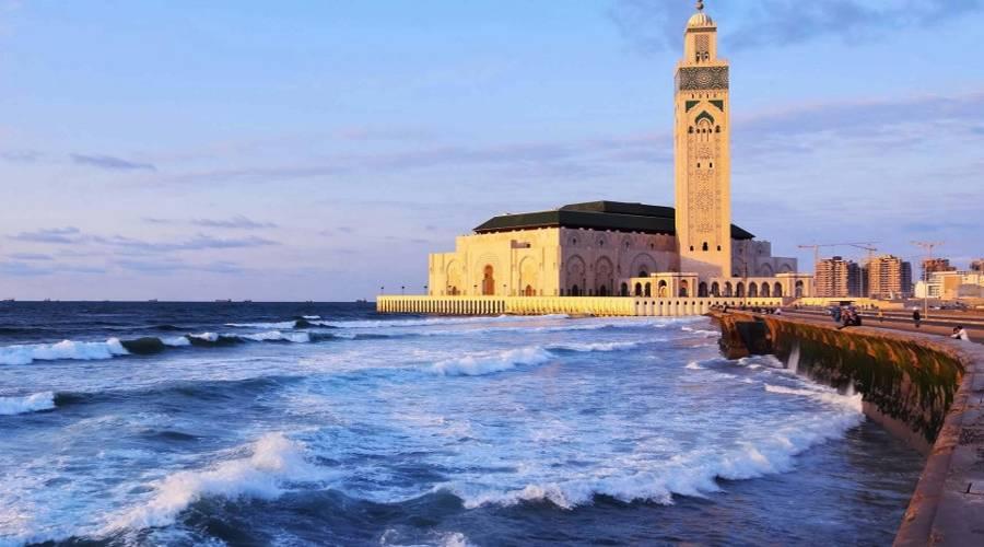 Mosquée Hassan II maroc