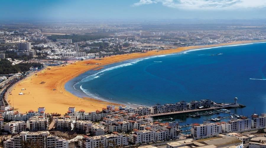 Ville d'Agadir Maroc