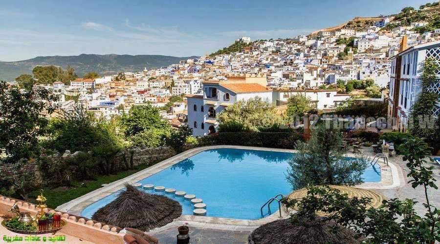 Ville de Chefchaouen Maroc