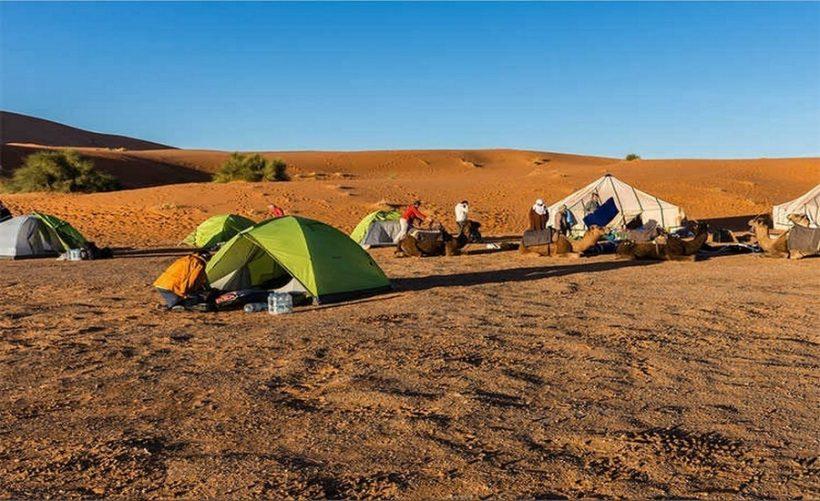 randonnee desert maroc