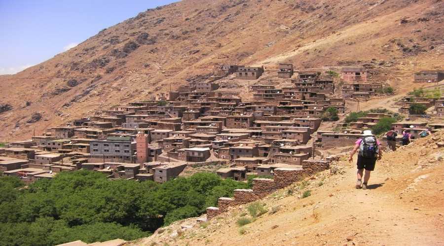 Randonnee pedestre Maroc