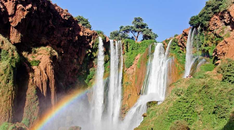 Cascades d'Ouzoud maroc
