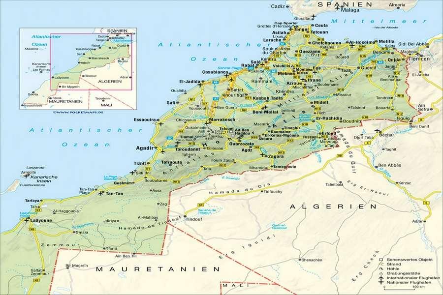 Géographie du Maroc