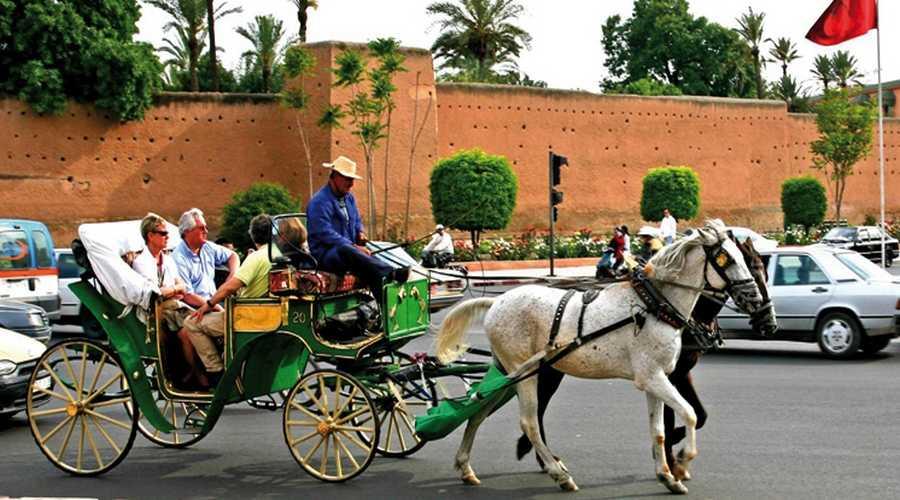Marrakech attractions touristiques