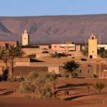 Village de Merzouga Maroc