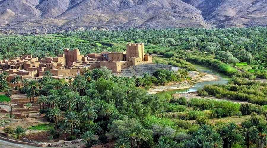 Ville Errachidia Maroc