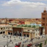 Ville d'Oujda Maroc