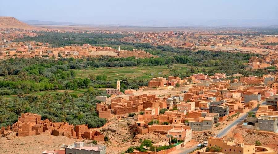 Ville de Tinghir Maroc