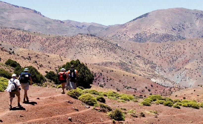 trek en montagne de mgoun