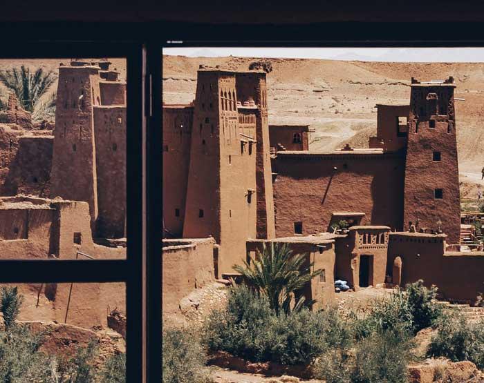 kasbah ait benhaddou sud maroc